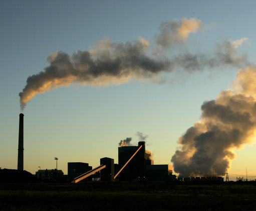 Sunflower Electric Cooperative's coal-fired power plant. Picture by Charlie Riedel AP/Press Association Images