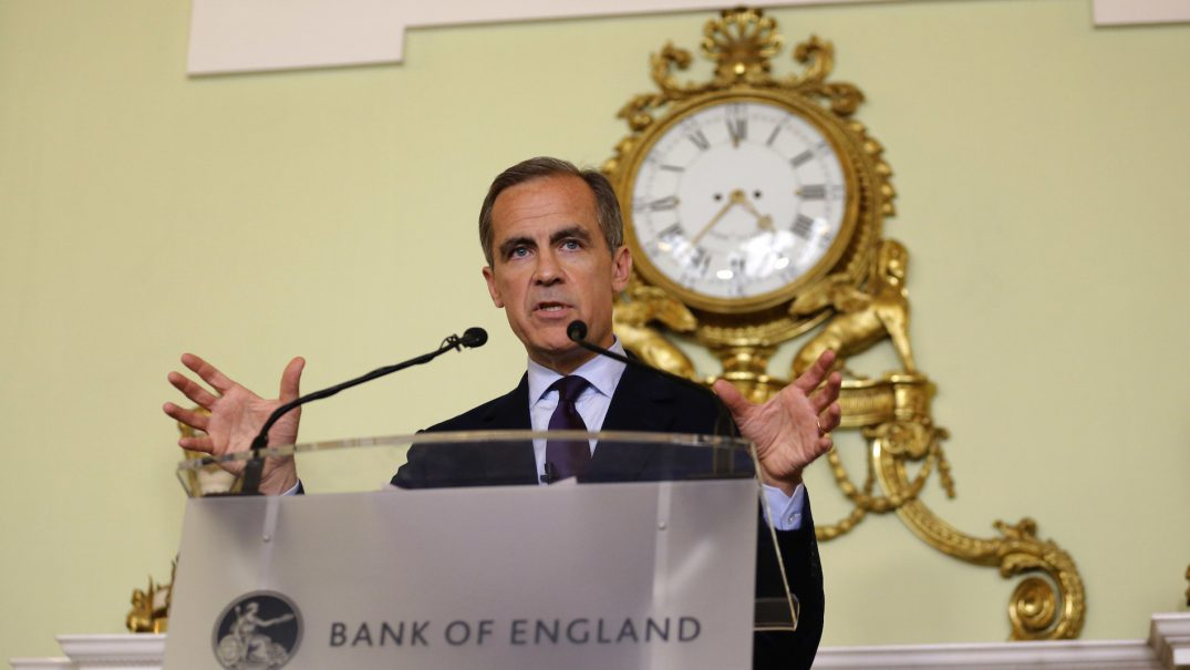 The governor of the Bank of England Mark CarneyAP Photo/Matt Dunham, Pool.